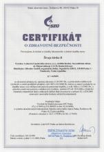 Certificate SynchroVitals II